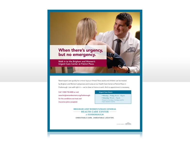 BWH Urgent Care   Fallon Creative